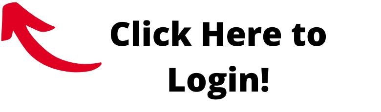 Arrow Pointing to Login Button- Links to University of Cincinnati Central Login